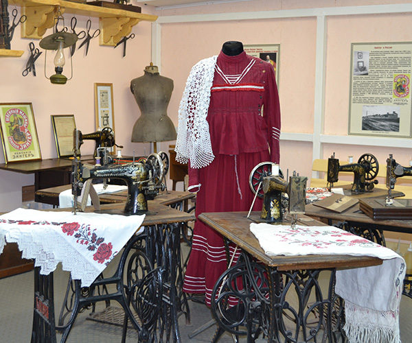 The Antique Sewing Machines Museum