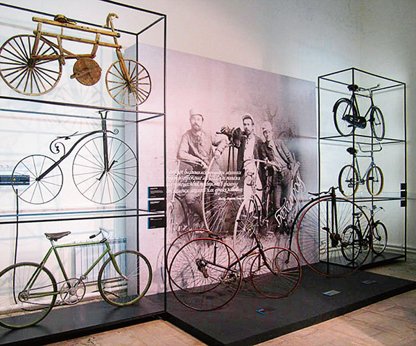 The Andrey Myatiev Bicycle Museum
